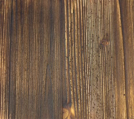 Holz Altern holz altern lassen gasbrenner essig stahlwolle antikwachs
