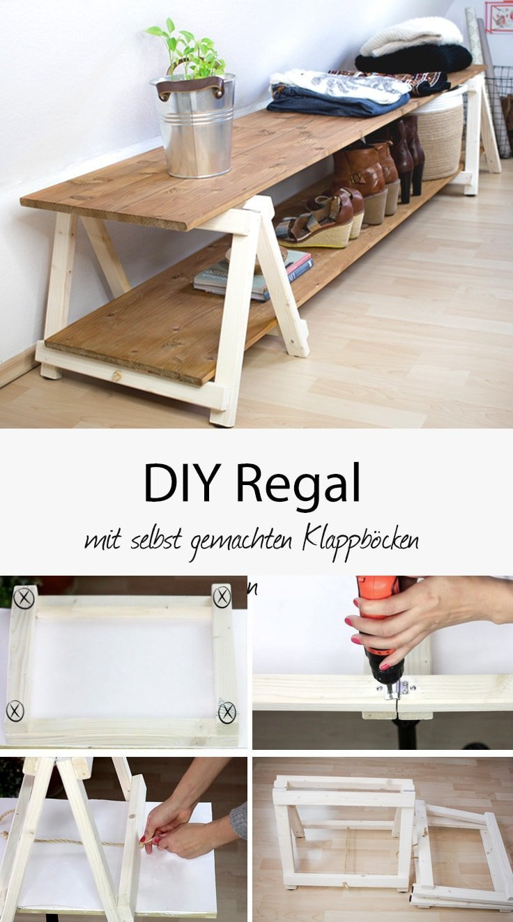 DIY Regal Klappbock