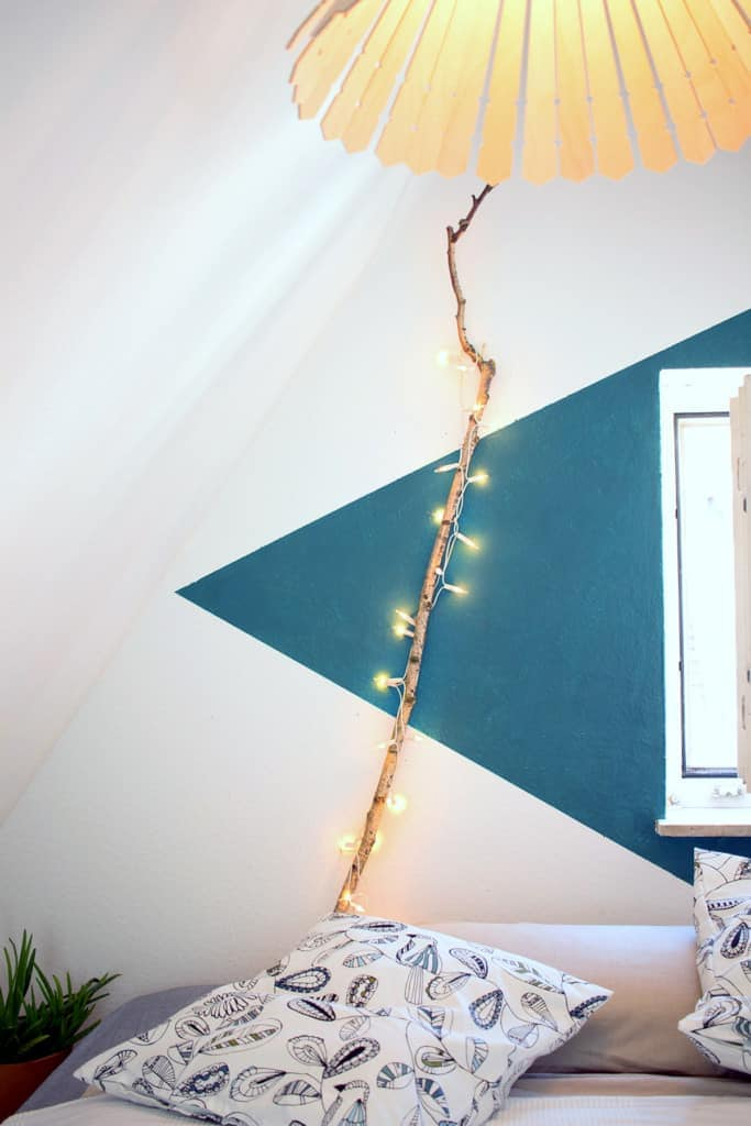 DIY Lampe Ast