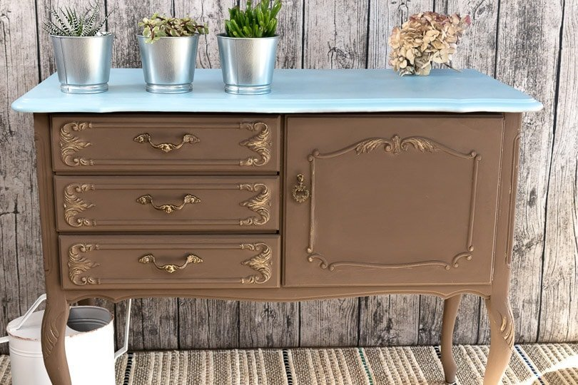 kreidefarbe mit holzwachs zum shabby chic diy blog anleitung. Black Bedroom Furniture Sets. Home Design Ideas