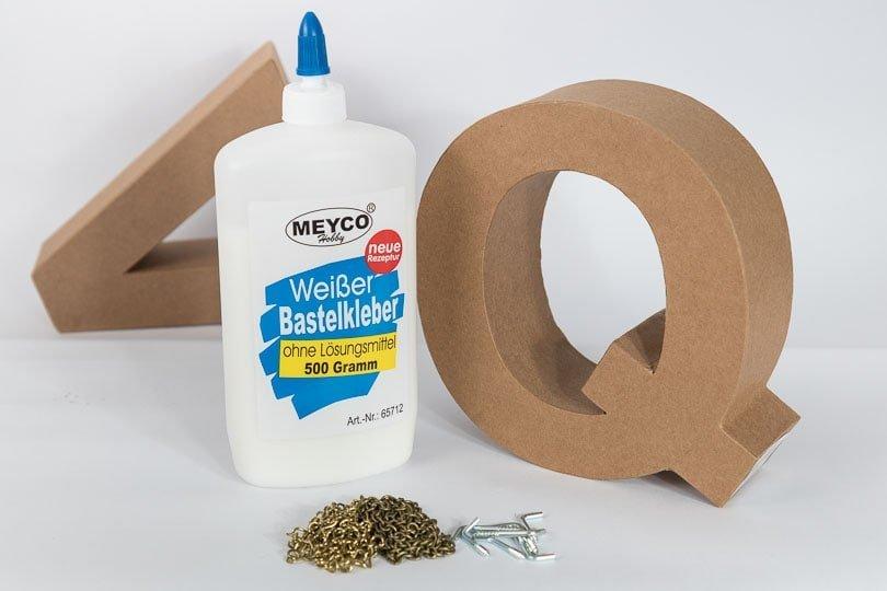 DIY Schlüsselbrett selber machen