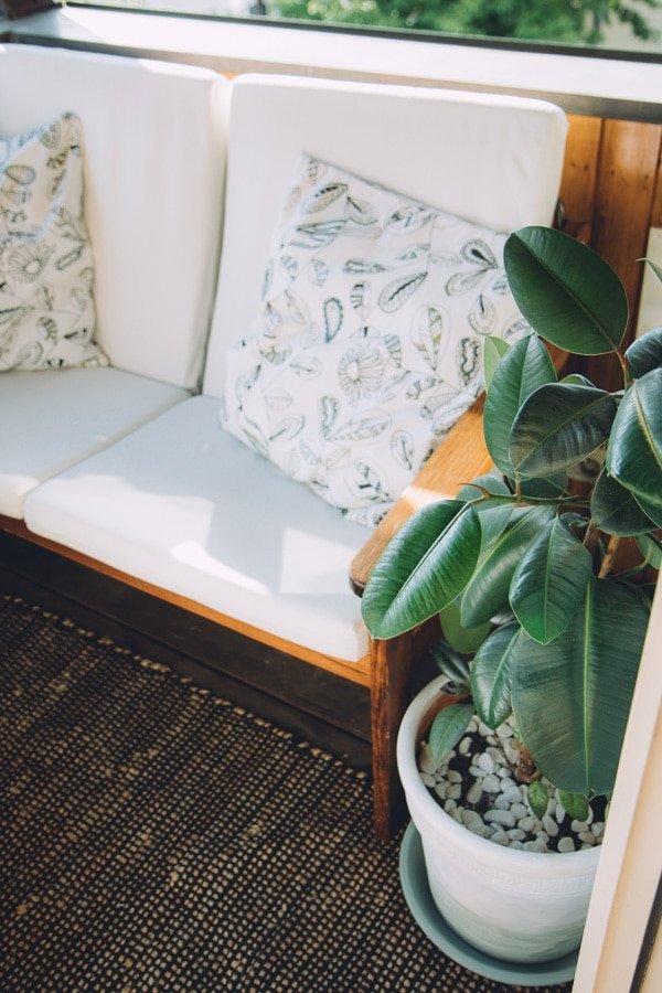 DIY Kleinen Balkon gestalten