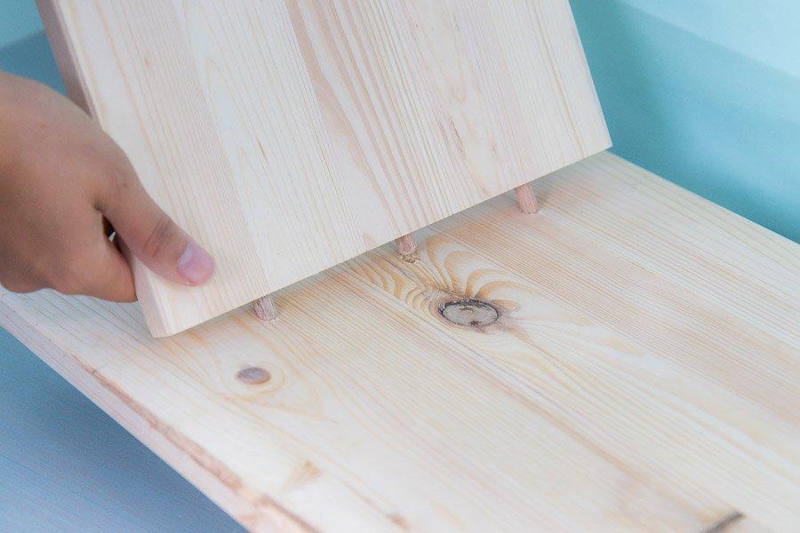 Dübelhilfe Wolfcraft Möbel selber bauen