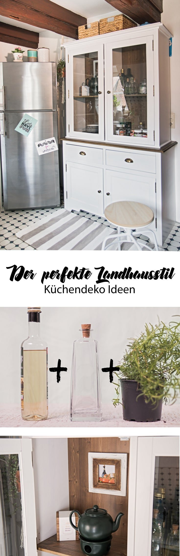 moderner landhausstil k che einrichten diy ideen. Black Bedroom Furniture Sets. Home Design Ideas